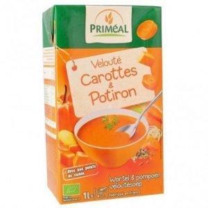 Crema zanahoria calabaza Priméal 1 l