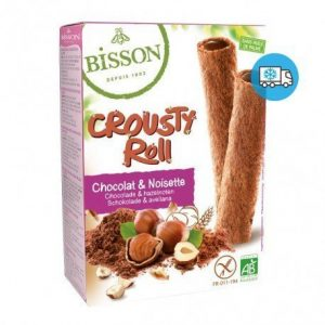 Crousty roll cacao avellanas Bisson 125 g