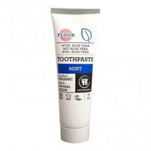 Dentífrico Menta-aloe con flúor Urtekram 75 ml