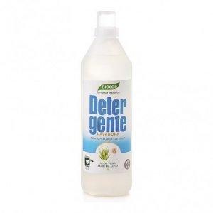 Detergente líquido aloe flor de loto Biocop 1 lt.
