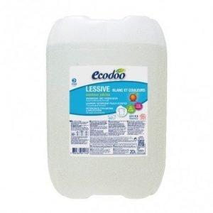 Detergente líquido concentrado de melocotón Ecodoo 20 litros