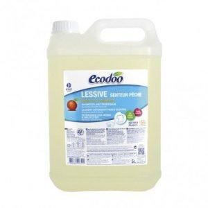 Detergente líquido concentrado de melocotón Ecodoo 5 litros