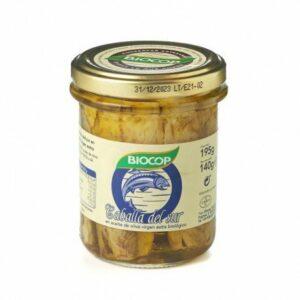 Filetes de caballa Biocop 195 gr.