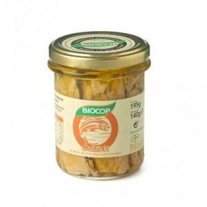 Filetes de salmón Biocop 195 gr.