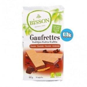 Galleta Gaufrettes chocolate Bisson 190 g