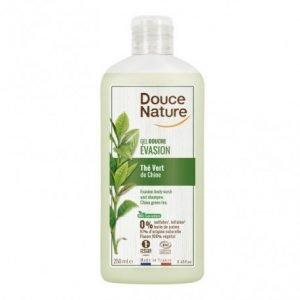 Gel de ducha de té verde Douce Nature 250 ml