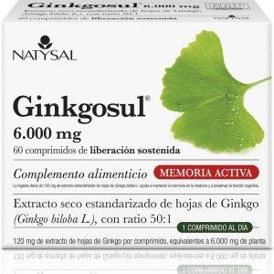 GINKGOSUL ® 6.000 Mg.
