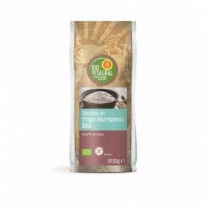 Harina de trigo sarraceno sin gluten Biovitagral 500 g