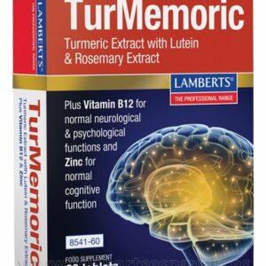 TurMemoric es un Extracto de Cúrcuma, Luteína, Romero y más