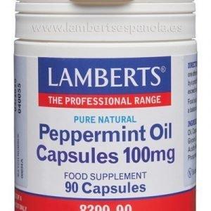 Aceite de Menta 100 mg Puro y Natural en cápsulas