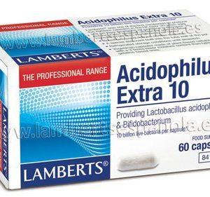 Acidophilus Extra 10. Una al Día con 60 cápsulas