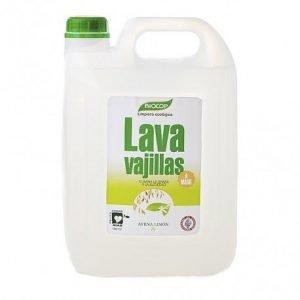 Lavavajillas avena limón Biocop 5 lt.
