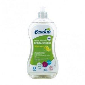 Lavavajillas desengrasante de limón verde Ecodoo 500 ml