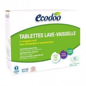 Lavavajillas en tabletas para máquina Ecodoo 30 x 20 g
