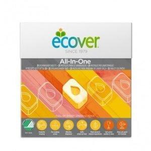 Lavavajillas para máquina All-in-one Ecover 25 tabletas