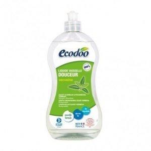 Lavavajillas suave de aloe vera y verbena Ecodoo 500 ml
