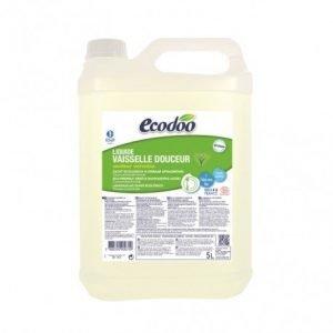Lavavajillas suave de aloe vera y verbena Ecodoo 5 litros