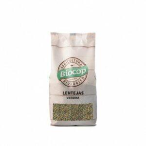 Lenteja verdina Biocop 500 g
