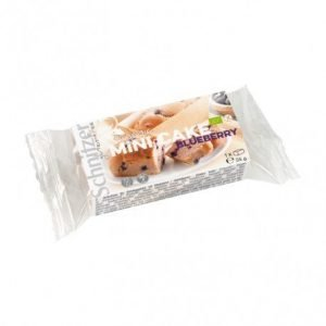 Mini bizcocho arándanos sin gluten Schnitzer 55g