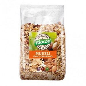 Muesli Copos crujientes Biocop 1 kg.