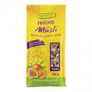 Muesli Frutas Rapunzel 750 g