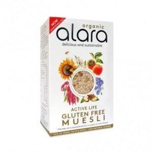 Muesli activo sin gluten Alara 250 g