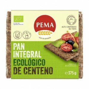 Pan de centeno integral Pema 375 g