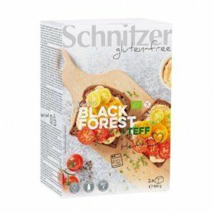 Pan de molde Teff Black Forest sin gluten Schnitzer 500 g
