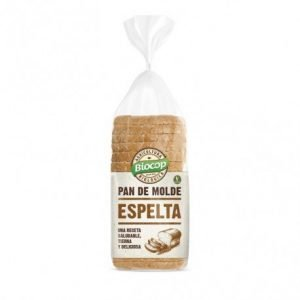 Pan de molde blando Espelta blanco Biocop 400 gr.