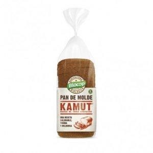 Pan de molde blando Kamut blanco Biocop 400 gr.