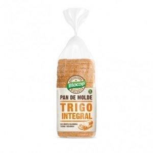 Pan de molde blando Trigo integral Biocop 400 gr.
