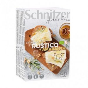 Pan de molde con amaranto rústico sin gluten Schnitzer 500 g
