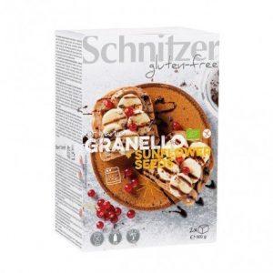 Pan de molde con semillas de girasol sin gluten Schnitzer 500 g