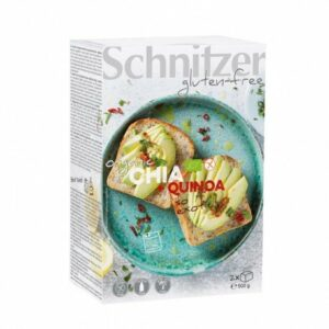 Pan de molde de chía y quinoa sin gluten Schnitzer 500 g