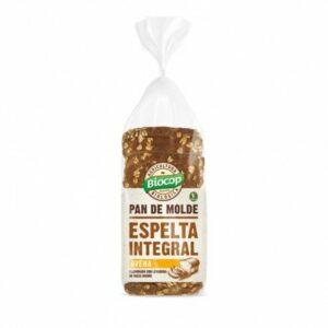 Pan de molde de espelta integral avena Biocop 400 gr.