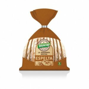 Pan rústico blando de Espelta Biocop 350 gr.