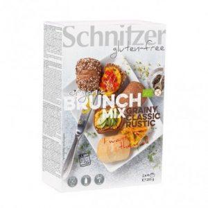 Panecillos Brunch Mix sin gluten Schnitzer 200 g
