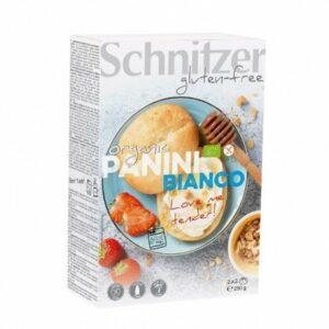 Panecillos blancos panini sin gluten Schnitzer 250g