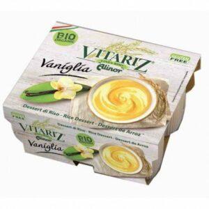 Postre de arroz con vainilla Vitariz 4 x 100 g