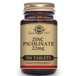 Picolinato de Zinc 22 mg – 100 Comprimidos