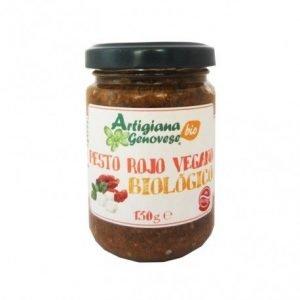 Salsa pesto rosso vegana Artigiana Genovese 130 g
