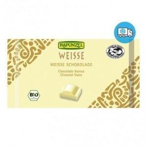 Snack de chocolate blanco Rapunzel 100 g