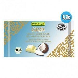Snack de chocolate blanco con coco Rapunzel 100 g