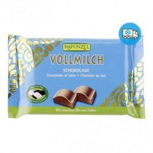 Snack de chocolate con leche Rapunzel 100 g
