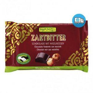 Snack de chocolate negro con avellanas Rapunzel 100 g