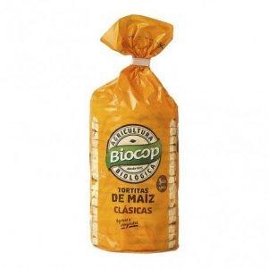 Tortitas de maíz Biocop 120 gr.