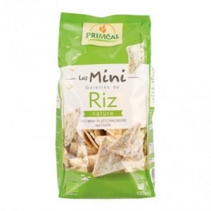 Triángulos arroz mini riz Priméal 120 g – Primeal