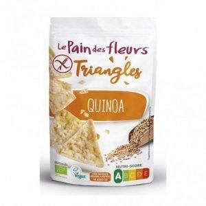 Triángulos de maíz y quinoa Le Pain des Fleurs 50g