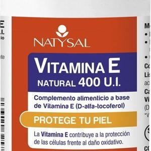 VITAMINA E NATURAL 400 U.I.