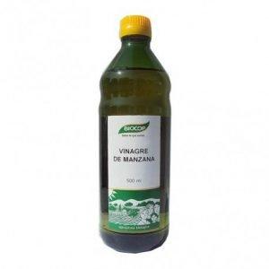 Vinagre de manzana Biocop 500 ml.